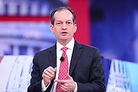 National Harbor, MD - February 22, 2018: U.S. Labor Secretary Alex Acosta participates in a discussion during the Conservative Political Action Conference (CPAC) at the Gaylord National Hotel in National Harbor, MD, February 22, 2018  (Photo by Don Baxter/Media Images International)