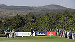 JEJU, SOUTH KOREA - APRIL 23:  Ross McGowan of England tees off on the 4th hole during the Round Two of the Ballantine's Championship at Pinx Golf Club on April 23, 2010 in Jeju island, South Korea.  Photo by Victor Fraile / The Power of Sport Images