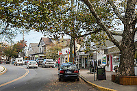 Downtown Woodstock village, New York, USA
