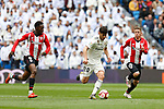 Real Madrid CF's Marco Asensio, Athletic Club de Bilbao's Inaki Williams and Athletic Club de Bilbao's Iker Muniain during La Liga match. April 21, 2019. (ALTERPHOTOS/Manu R.B.)