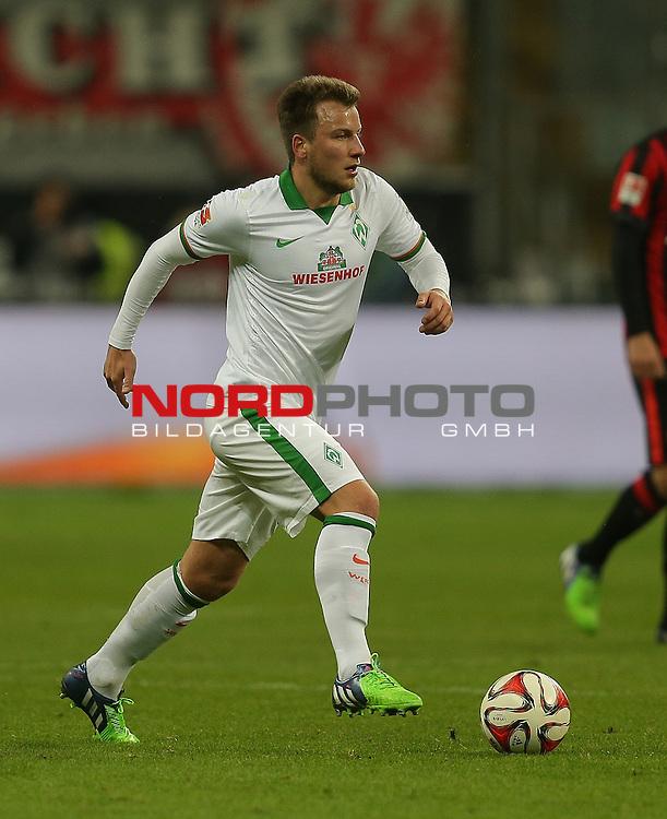07.12.2014, Commerzbank-Arena, Frankfurt, GER, 1. FBL, Eintracht Frankfurt vs Werder Bremen<br /> Philipp Bargfrede (Bremen)<br /> Foto &copy; nordphoto /  Bratic
