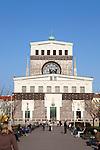 The Church of the Most Sacred Heart of Our Lord (Czech: Kostel Nejsvětějšího Srdce Páně) is a Roman Catholic church at Jiřího z Poděbrad square designed by Slovenian architect Josip Plečnik and built in the years 1928 - 1932, in Prague's Vinohrady neighborhood, Czech Republic, Europe