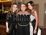 Jenny Fagan celebrating her 40th birthday in The Thatch with nieces Clare and Maria Fagan. Photo:Colin Bell/pressphotos.ie