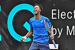 11.06.2019, Tennisclub Weissenhof e. V., Stuttgart, GER, Mercedes Cup 2019, ATP 250, Gael MONFILS (FRA) [5] vs Steve JOHNSON (USA) <br /> <br /> im Bild Gael MONFILS (FRA) jubelt nach seinem Sieg<br /> <br /> Foto © nordphoto/Mauelshagen