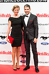 Paco Roncero and his wife Nerea Ruano attends to the delivery of the Men'sHealth awards at Goya Theatre in Madrid, January 28, 2016.<br /> (ALTERPHOTOS/BorjaB.Hojas)
