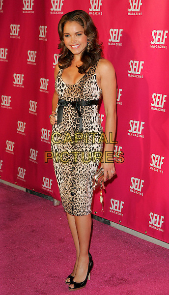 SUSIE CASTILLO.At Self Magazine event to introduce 'Self Spotlight' Breast Cancer Awareness Benefit, New York, NY, USA..September 27th, 2006.Ref: ADM/JL.full length leopard print dress.www.capitalpictures.com.sales@capitalpictures.com.©Jackson Lee/AdMedia/Capital Pictures.