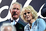 Prince Charles and Camilla. Opening Ceremony. XXI Commonwealth games. Carrara Stadium. Gold Coast 2018. Queensland. Australia. 04/04/2018. ~ MANDATORY CREDIT Garry Bowden/SIPPA - NO UNAUTHORISED USE - +44 7837 394578