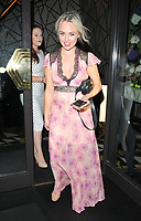 Jorgie Porter at the Q Decades summer series of live performances launch party, Quaglino's, Bury Street, London, England, UK, on Wednesday 04 July 2018.<br /> CAP/CAN<br /> &copy;CAN/Capital Pictures