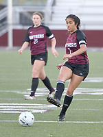 Bud Sullins/Special to Siloam Sunday<br /> Former Siloam Springs girls soccer standout Laura Morales, right, will play for the West All-Stars in Friday's Arkansas High School Coaches Association All-Star Game at Estes Stadium in Conway.