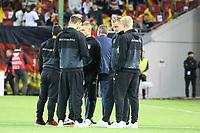 Joshua Kimmich (Deutschland, Germany), Bernd Leno (Deutschland Germany), Julian Brandt (Deutschland Germany) - 08.10.2017: Deutschland vs. Asabaidschan, WM-Qualifikation Spiel 10, Betzenberg Kaiserslautern