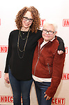 """Rebecca Taichman and Paula Vogel attend the """"Indecent"""" Media Day at Playwrights Horizons on March 13, 2017 in New York City."""