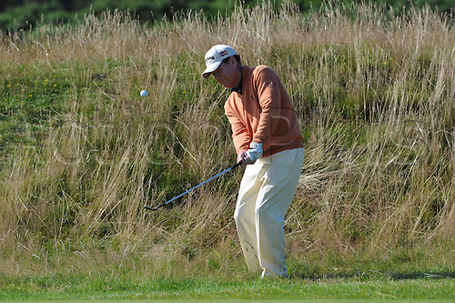 23/07/2010 Tom Watson (USA)  in action in the second round of the Mastercard British Senior Open Golf Championship on the Championship Course at Carnoustie, Angus, Scotland