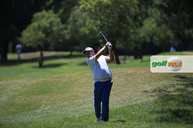Justin Walters (RSA) in action during Round Three of the 2016 Tshwane Open, played at the Pretoria Country Club, Waterkloof, Pretoria, South Africa.  13/02/2016. Picture: Golffile | David Lloyd<br /> <br /> All photos usage must carry mandatory copyright credit (&copy; Golffile | David Lloyd)