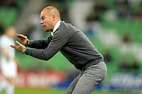 GRONINGEN - Voetbal , FC Groningen - FC Twente , KNVB Beker seizoen 2018-2019, 27-09-2018,  FC Groningen trainer Danny Buijs