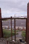 23/06/2000 Blackpool FC Bloomfield Road Ground..home Kop exit gangway/steps.....© Phill Heywood.