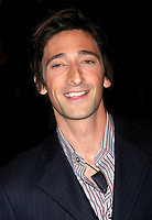 "ADRIEN BRODY 09/09/2003<br /> THE NEW YORK PREMIERE OF<br /> ""DUMMY"". SONY LINCOLN SQUARE, NYC<br /> Photo By John Barrett/PHOTOlink.net"
