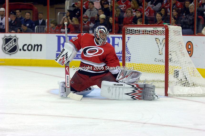 NHL hockey game&amp;#xA;Friday, Dec. 15, 2006&amp;#xA;Raleigh, N.C.<br />