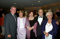 Montreal, August 23rd 2001 File Photo<br /> From Left to Right (L-R)<br />  Montreal Mayor ; Pierre Bourque, Quebec Ministers of International relations ;  Louise Beaudoin,  Quebec Minister of State for Culture and Communications ; Diane Lemieux, Montreal World Film Festival President ; Serge Losiquen and Quebec Minister of Municipal affairs  ; Louise Harel, pose for a photo on the World Film Festival (Festival des Films du Monde) opening night, August 23rd, 2001, in Montreal, CANADA.