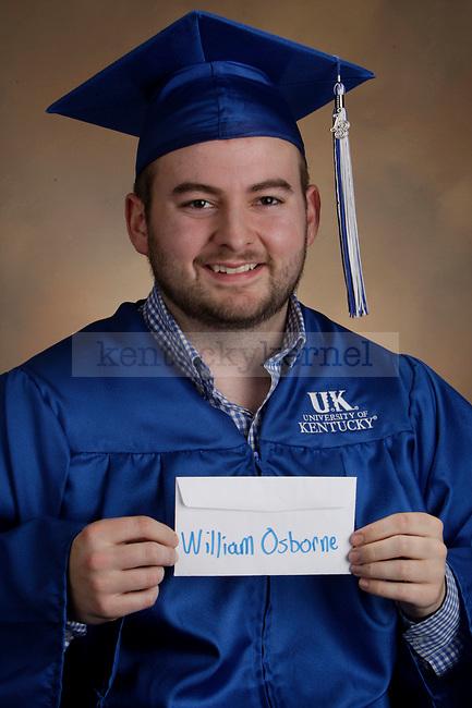 Osborne, William photographed during the Feb/Mar, 2013, Grad Salute in Lexington, Ky.