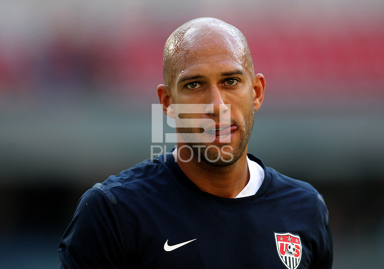 MEXICO CITY, MEXICO - AUGUST 15, 2012:  Tim Howard (1) of the USA MNT  during an international friendly match against Mexico at Azteca Stadium, in Mexico City, Mexico on August 15. USA won 1-0.