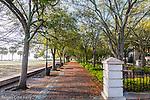 Waterfront Park in Charleston, South Carolina, USA