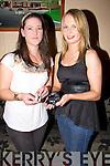 CHAMPIONS: All-Ireland winner in Handball 6 times l-r: Ashley Prendiville and Marie Daly who wionb 6 All Ireland title between them in Handball and members of the Ballymacelligott Handball Club..................... ..........
