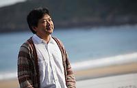 Director Hirokazu Kore-eda posses during the 61 San Sebastian Film Festival, in San Sebastian, Spain. September 20, 2013. (ALTERPHOTOS/Victor Blanco) /NortePhoto