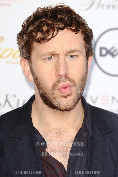 Chris O'Dowd arrives for the Lingerie London show at Old Bilinsgate Market, London. 24/10/2012 Picture by: Steve Vas / Featureflash