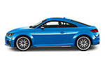 Car driver side profile view of a 2019 Audi TTS-Coupe Base 3 Door Coupe