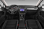 Stock photo of straight dashboard view of 2017 Volkswagen Tiguan Comfortline 5 Door Suv Dashboard