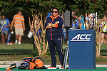 19 September 2014: Virginia Michele Madison. The Duke University Blue Devils hosted the University of Virginia Cavaliers at Jack Katz Stadium in Durham, North Carolina in a 2014 NCAA Division I Field Hockey match. Virginia won the game 2-1.