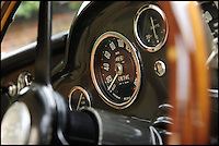 BNPS.co.uk (01202 558833)Pic: Bonhams/BNPS<br /> <br /> ****Please use full byline****<br /> <br /> Aston Martin DB4 GT interior.<br /> <br /> One of the most rare supercars ever to be built by iconic British company Aston Martin has emerged for sale for a whopping &pound;1.5 million.<br /> <br /> The flawless 1959 motor was the very first of just 45 right hand drive production versions of the world famous DB4 GT model.