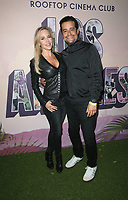 """LOS ANGELES, CA - MAY 11: Julie Benz, Rich Orosco, at Rooftop Cinema Club Hosts 20th Anniversary And Cast Reunion Of 1999 Cult Classic """"Jawbreaker"""" at Level in Los Angeles, California on May 11, 2019.     <br /> CAP/MPI/SAD<br /> ©SAD/MPI/Capital Pictures"""