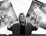 Ozzy Osbourne 1986 promoting The Ultimate Sin
