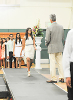 The Harker School - MS - Middle School - Grade 8 Promotion Ceremony held at Blackford Gym - Photo by Kyle Cavallaro