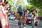 20th May 2017 Biella, Italy, Giro D Italia; stage 14 Castellania to Oropa; Astana; Kangert, Tanel arrive in Oropa;