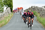 Ian Stannard (GBR) Team Ineos on the front of the peloton during Stage 4 of the 2019 Tour de Yorkshire, running 175km from Halifax to Leeds, Yorkshire, England. 5th May 2019.<br /> Picture: ASO/SWPix | Cyclefile<br /> <br /> All photos usage must carry mandatory copyright credit (&copy; Cyclefile | ASO/SWPix)