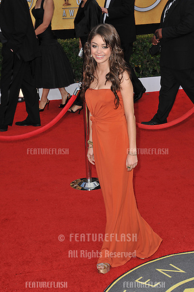 Sarah Hyland at the 17th Annual Screen Actors Guild Awards at the Shrine Auditorium..January 30, 2011  Los Angeles, CA.Picture: Paul Smith / Featureflash