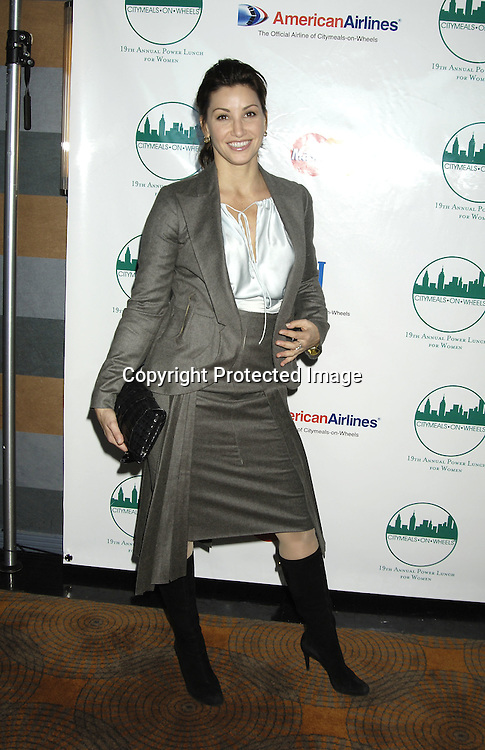 Gina Gershon ..at The Citymeals-on-Wheels 19th Annual Power Lunch for Women on November 18, 2005 at The Rainbow Room. ..Photo by Robin Platzer, Twin Images