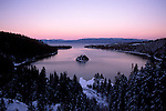California: Lake Tahoe.  View from Emerald Bay.  Photo cataho101..Photo copyright Lee Foster, 510/549-2202, lee@fostertravel.com, www.fostertravel.com.