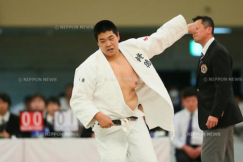 Yusei Ogawa (Shutoku), <br /> MARCH 21, 2014 - Judo : <br /> The 36th All Japan High School Judo Tournament <br /> Men's Team Final <br /> at Nippon Budokan, Tokyo, Japan. <br /> (Photo by YUTAKA/AFLO SPORT) [1040]