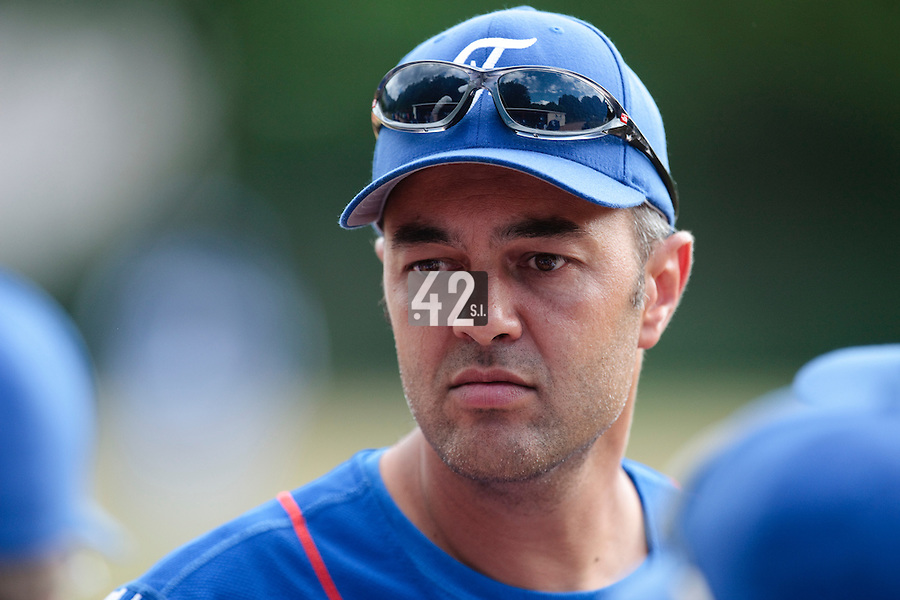 13 July 2010: Team manager Sylvain Virey of France is seen during day 1 of the Open de Rouen, an international tournament with Team France, Team Saint Martin, Team All Star Elite, at Stade Pierre Rolland, in Rouen, France.