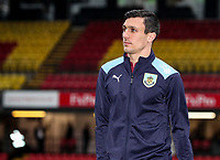 Burnley's Jack Cork pictured before the match<br /> <br /> Photographer Andrew Kearns/CameraSport<br /> <br /> The Premier League - Watford v Burnley - Saturday 19 January 2019 - Vicarage Road - Watford<br /> <br /> World Copyright © 2019 CameraSport. All rights reserved. 43 Linden Ave. Countesthorpe. Leicester. England. LE8 5PG - Tel: +44 (0) 116 277 4147 - admin@camerasport.com - www.camerasport.com