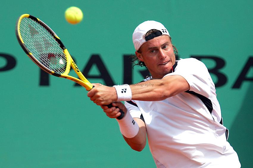 Photo: Iconsport/Richard Lane Photography..French Open, Roland Garros 2007. 31/05/2007..Lleyton Hewitt.