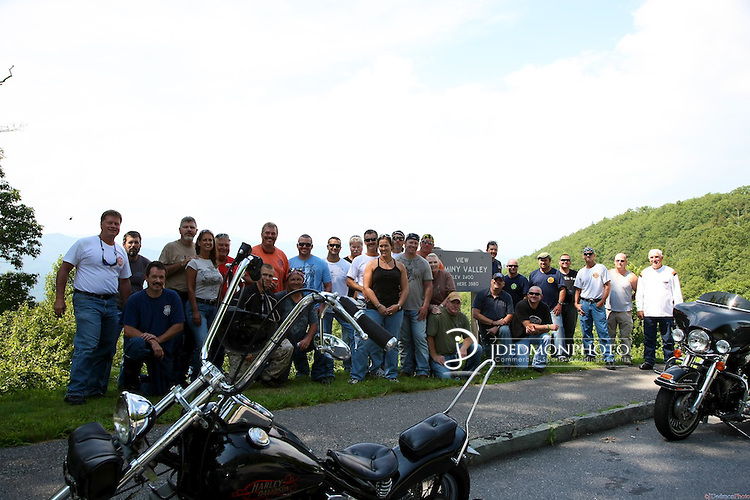 Motorcycle Ride to Maggie Valley with stop in Asheville