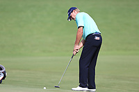 Steve Stricker (USA) putts onto the 18th green during Saturday's Round 3 of the 2017 PGA Championship held at Quail Hollow Golf Club, Charlotte, North Carolina, USA. 12th August 2017.<br /> Picture: Eoin Clarke | Golffile<br /> <br /> <br /> All photos usage must carry mandatory copyright credit (&copy; Golffile | Eoin Clarke)
