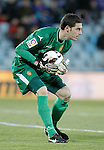 Real Zaragoza's Pablo Alcolea during La Liga match. March 01, 2013. (ALTERPHOTOS/Alvaro Hernandez)