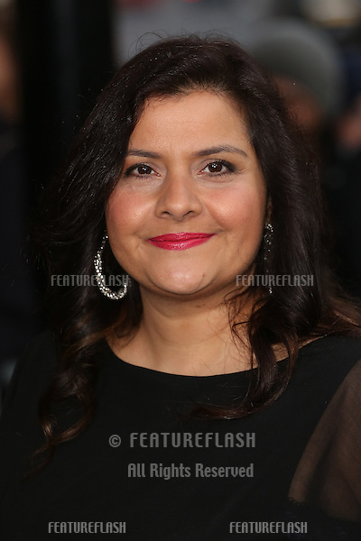 Nina Wadia at The Asian Awards 2014 held at Grosvenor House Hotel, London. 04/04/2014 Picture by: Henry Harris / Featureflash