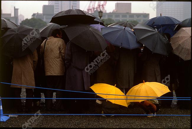 Funeral of Emporer Hirohito, Japan, February 1989
