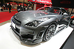 Jan 15, 2010 - Chiba, Japan - A Nissan GT-R BNR32 customized by Tommykaira is displayed during the Tokyo Auto Salon 2010 in Chiba, suburb Tokyo, on January 15, 2010. More than 400 companies, associations and groups are displaying more than 600 custom vehicules in the Japan's biggest tuning show which takes place between January 15 and 17. (Photo Laurent Benchana/Nippon News)